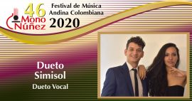 Dueto Simisol – Dueto Vocal – Valle – Tolima